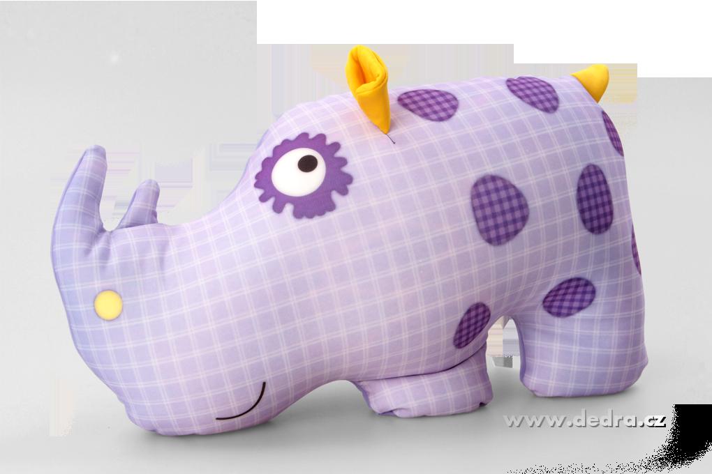 """Relaxační polštář Nosorožec""""NOFOROŽEC"""" speciál.mikrokuličky"""
