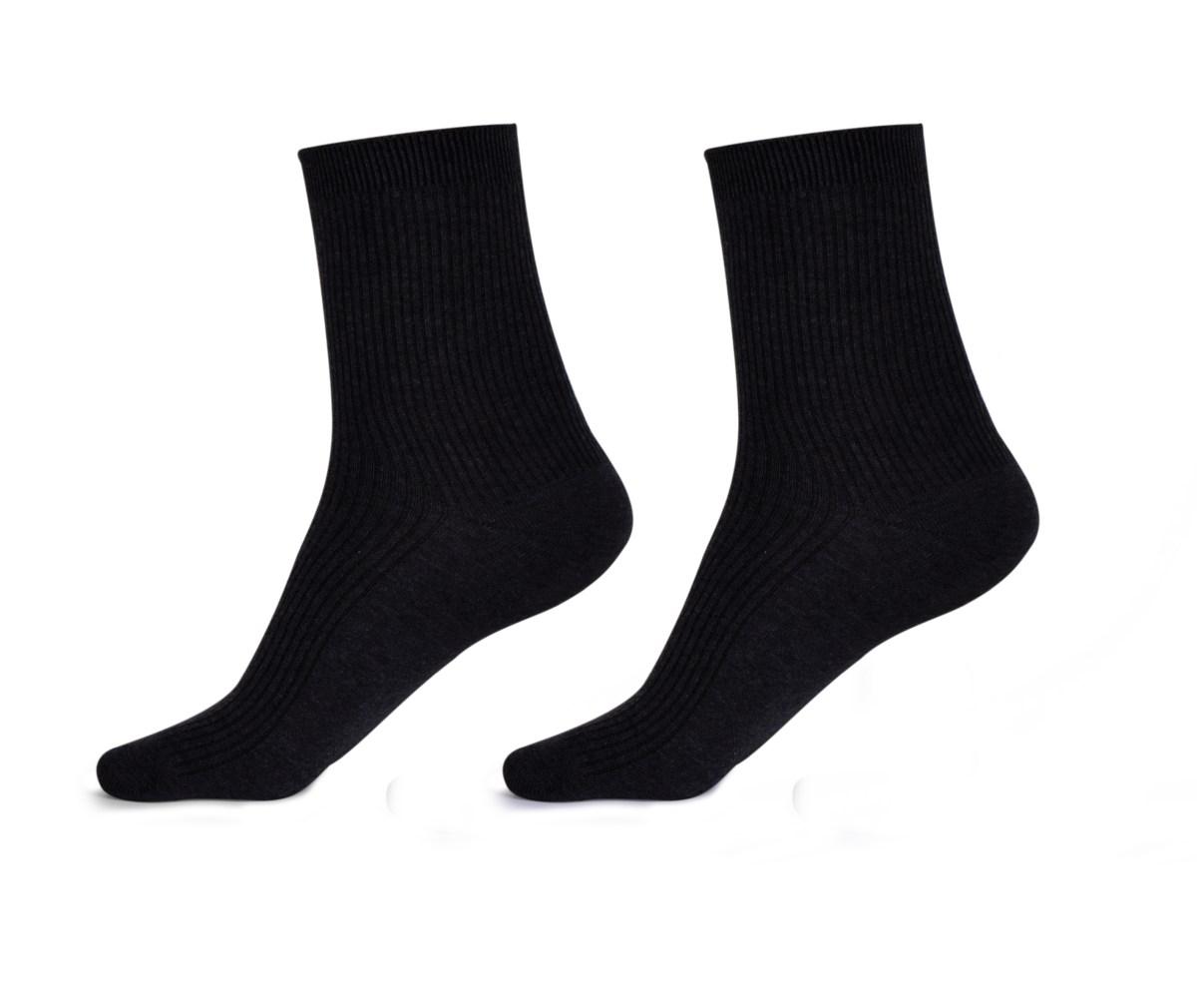 Sada 4 párů komfortních zdravotních ponožek   vel.3 (43-46)
