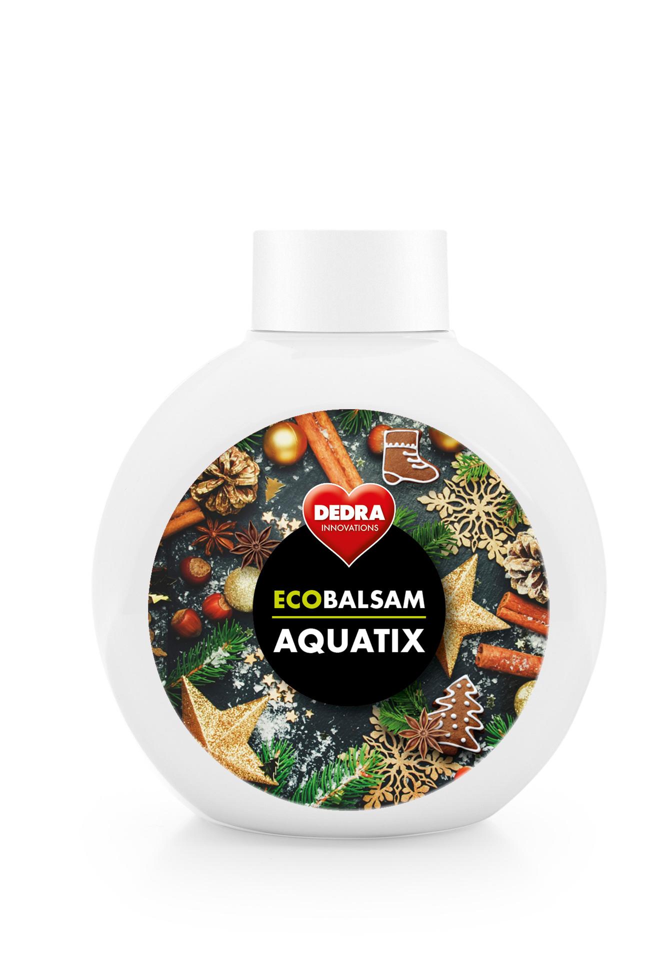 ECOBALSAM AQUATIX christmas secrets, koncentrát na ruční mytí nádobí bez pumpičky