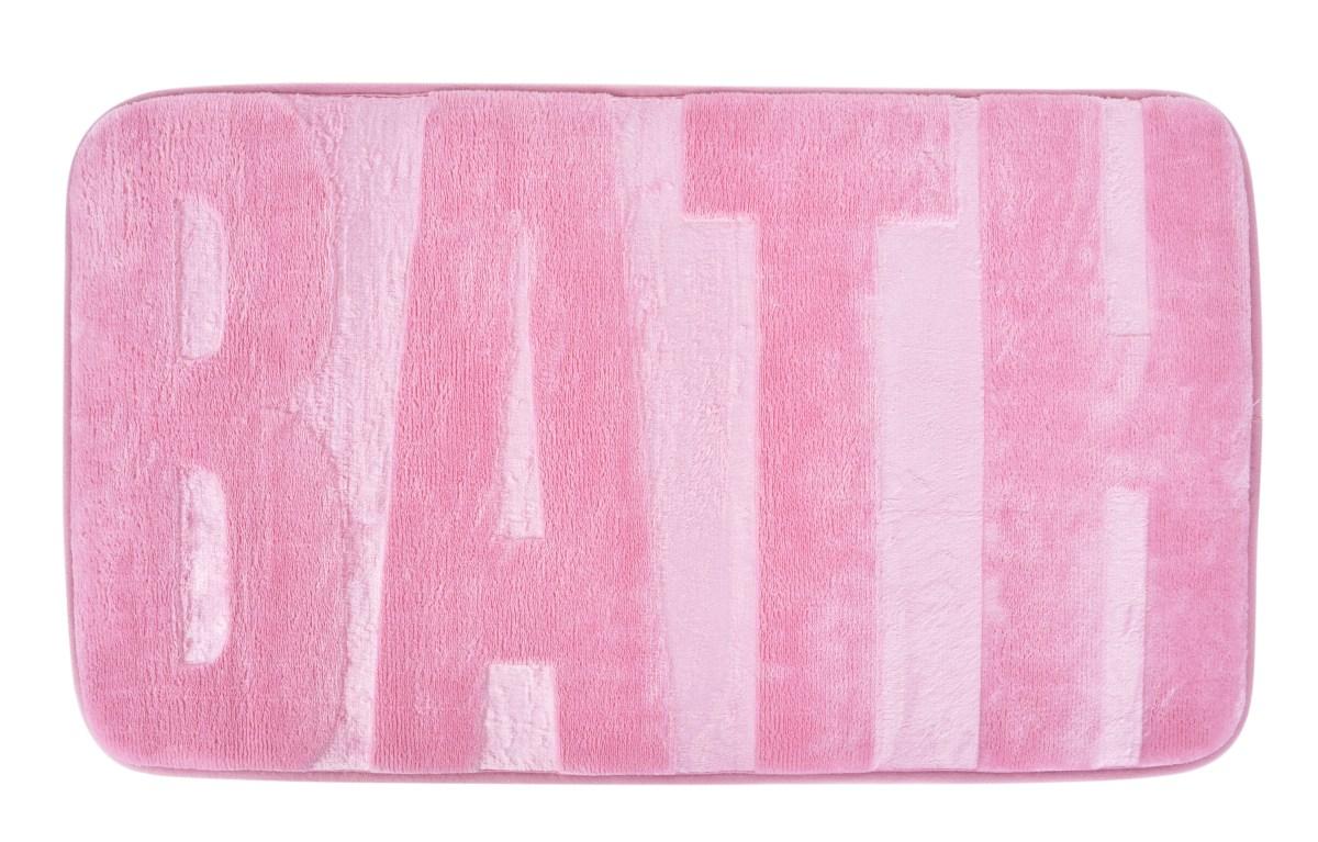 BATH Kúpeľňová predložka 73 x 45 - ružová