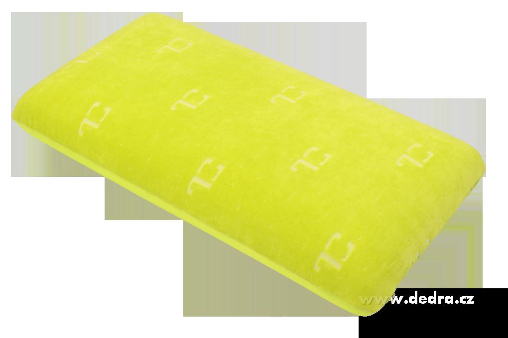 ANATOMIXX polštář s aktivní gelovou chladící zónou z paměťové pěny 70 x 36 x 13 cm