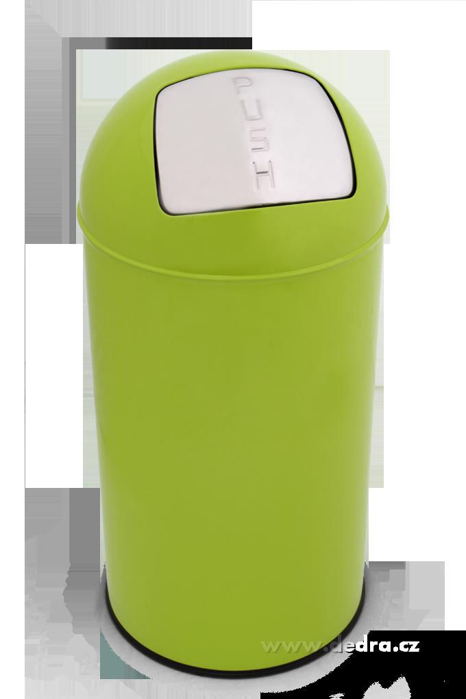 PUSH BIN 40 lodpadkový MAXI-KOŠjasně zelený