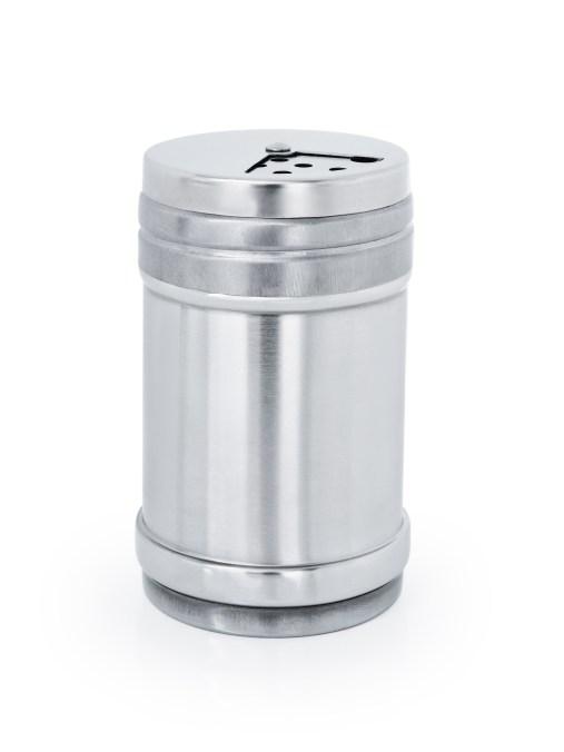 290 ml nerezová kořenka/cukřenka s možností nastavení dávkování