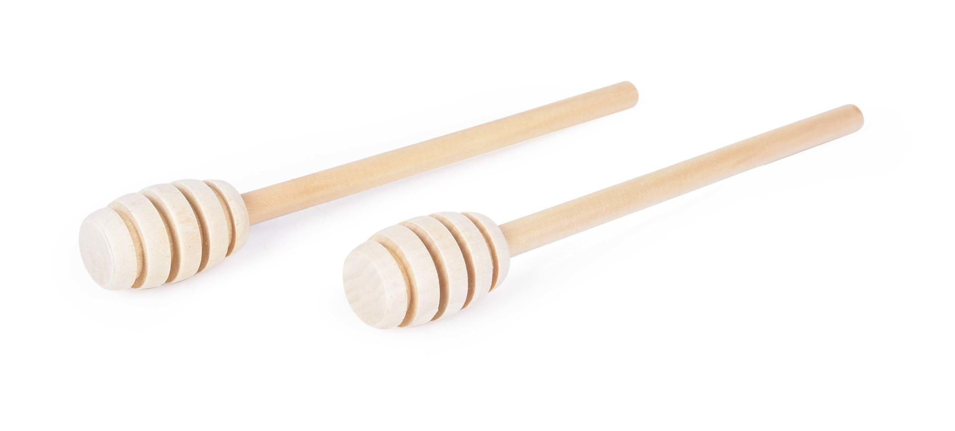 2 szt. miodo³y¿ka do miodu z drewna bukowego GoEco(R)