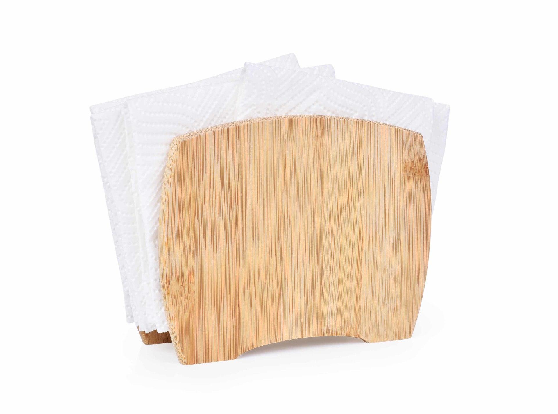 Bambusový stojan na ubrousky GoEco®