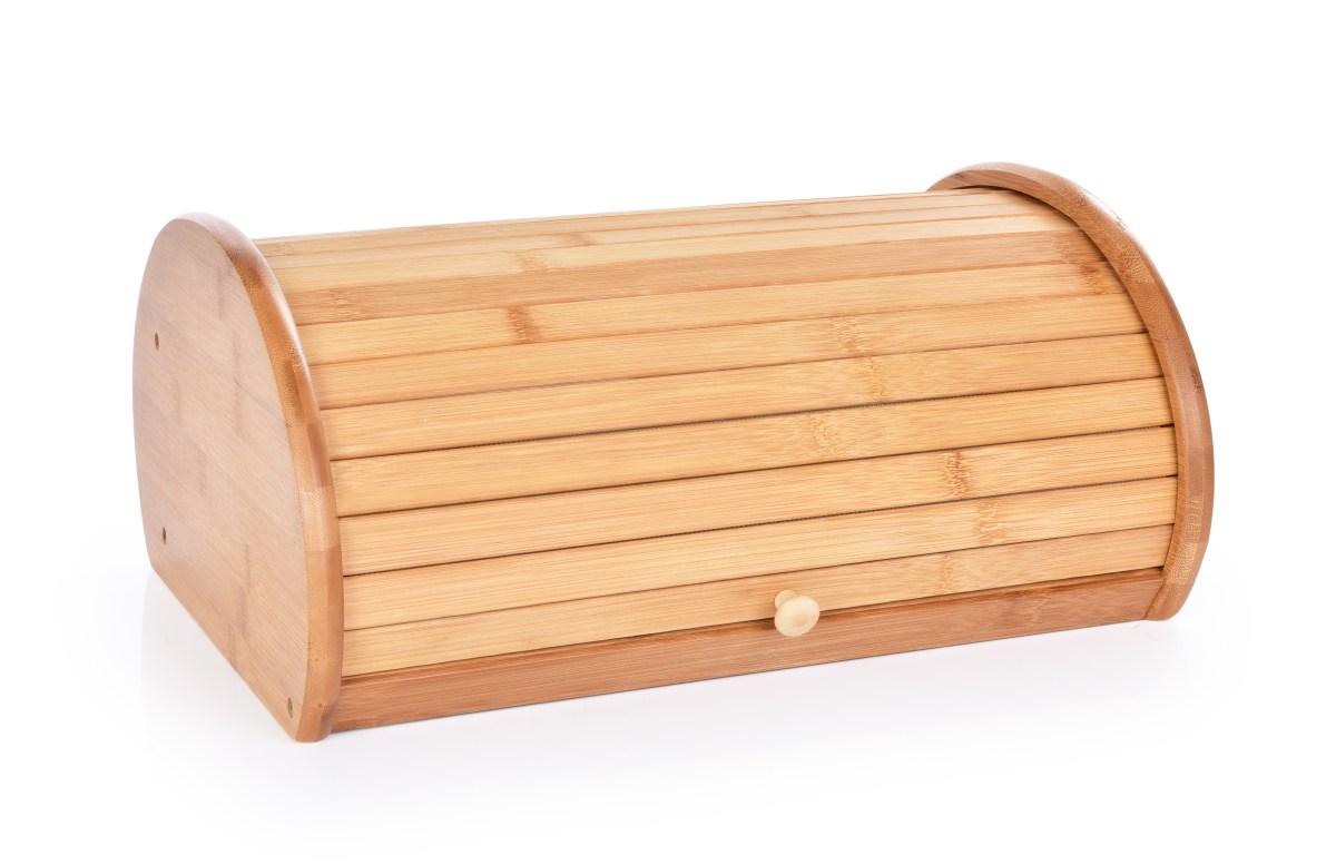 Bambusový CHLEBNÍK s roletkovým vekom GoEco®