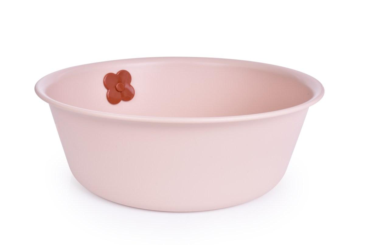 FLOWER okrúhly lavór 5l ružový