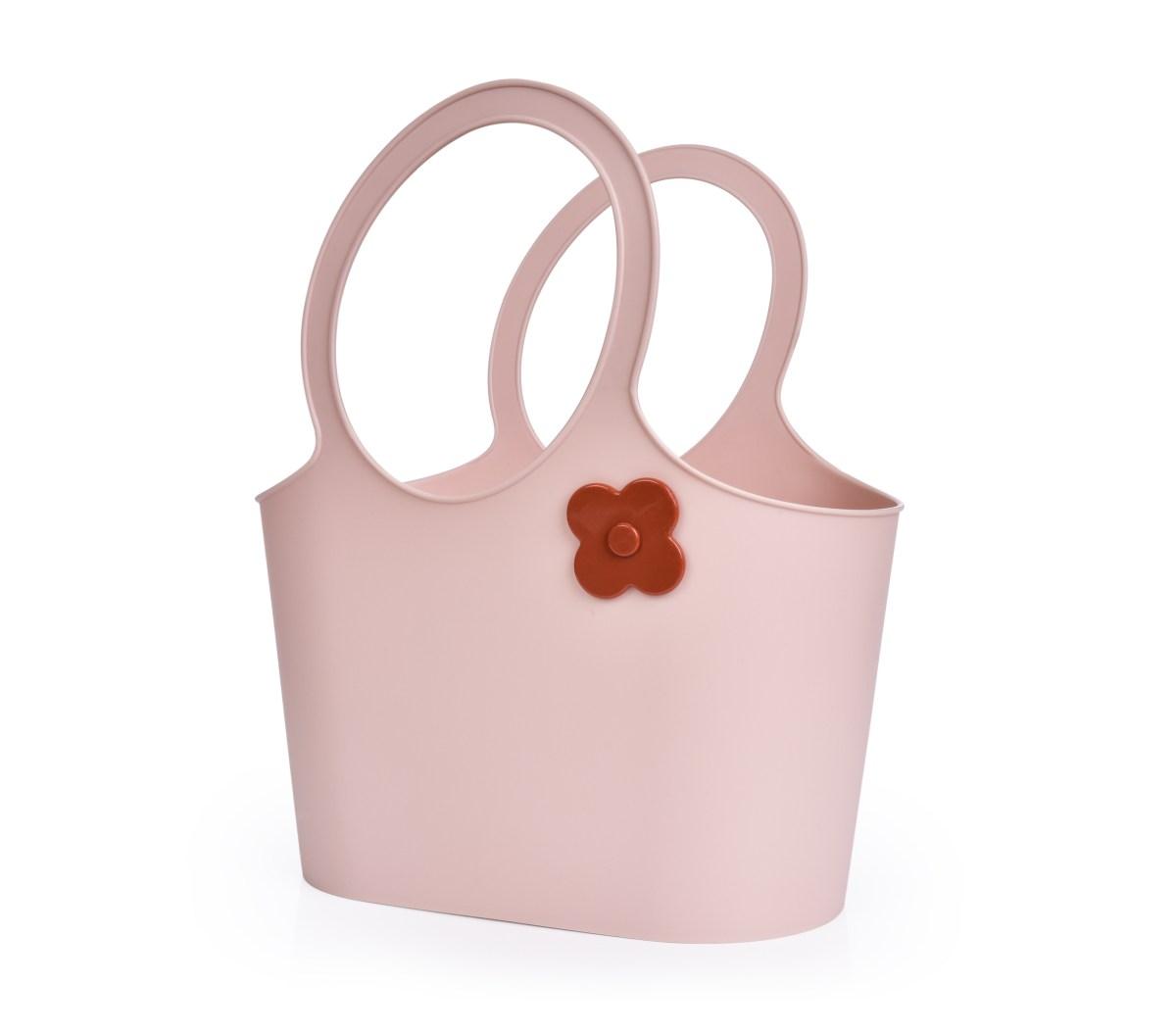 Stylová plastová taška FLOWER 5 L