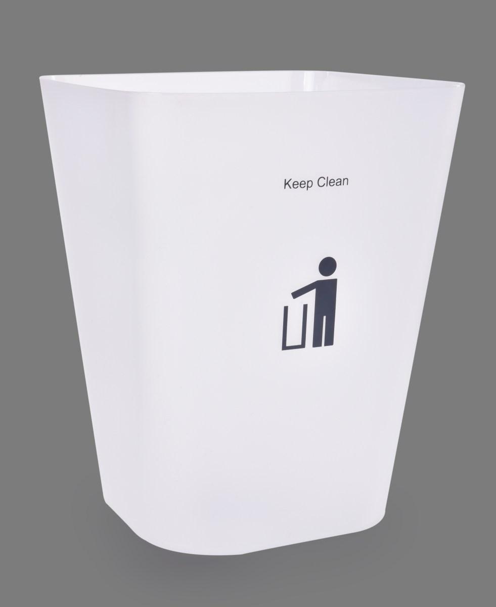 11 L transparentní odpadkový koš