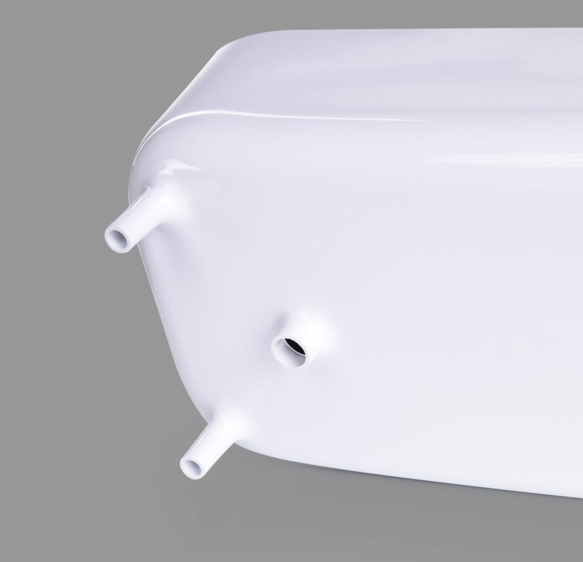Odkapávač na nádobí s okapem