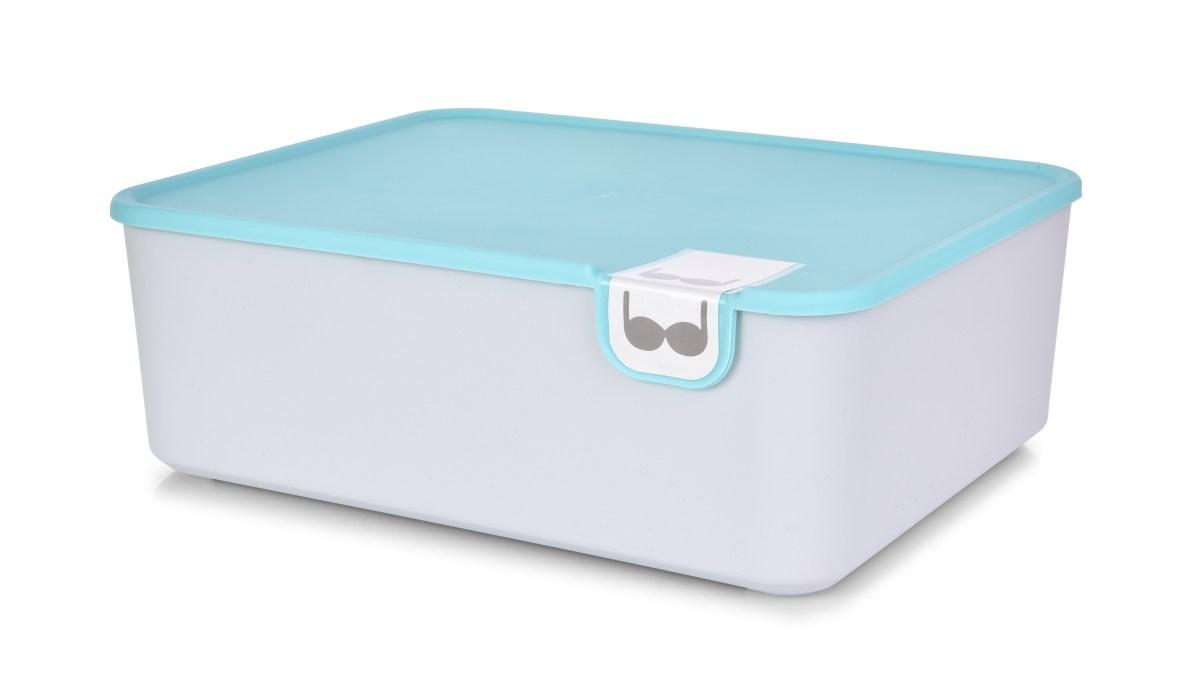 Praktický plastový organizér na podprsenky a spodní prádlo