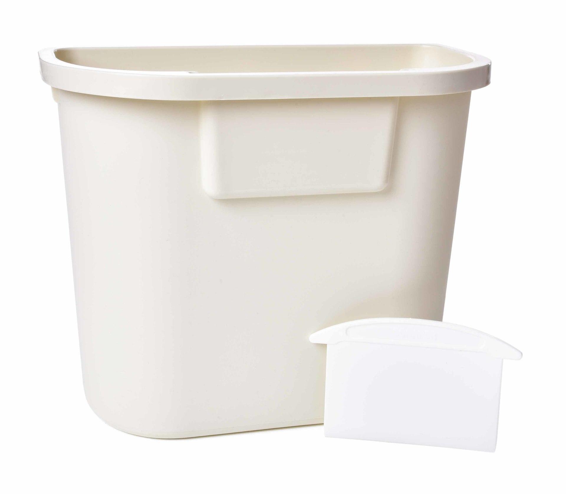 KUCHYŇSKÝ ZBYTKOVNÍK XL, závěsný odpadkový koš na dvířka