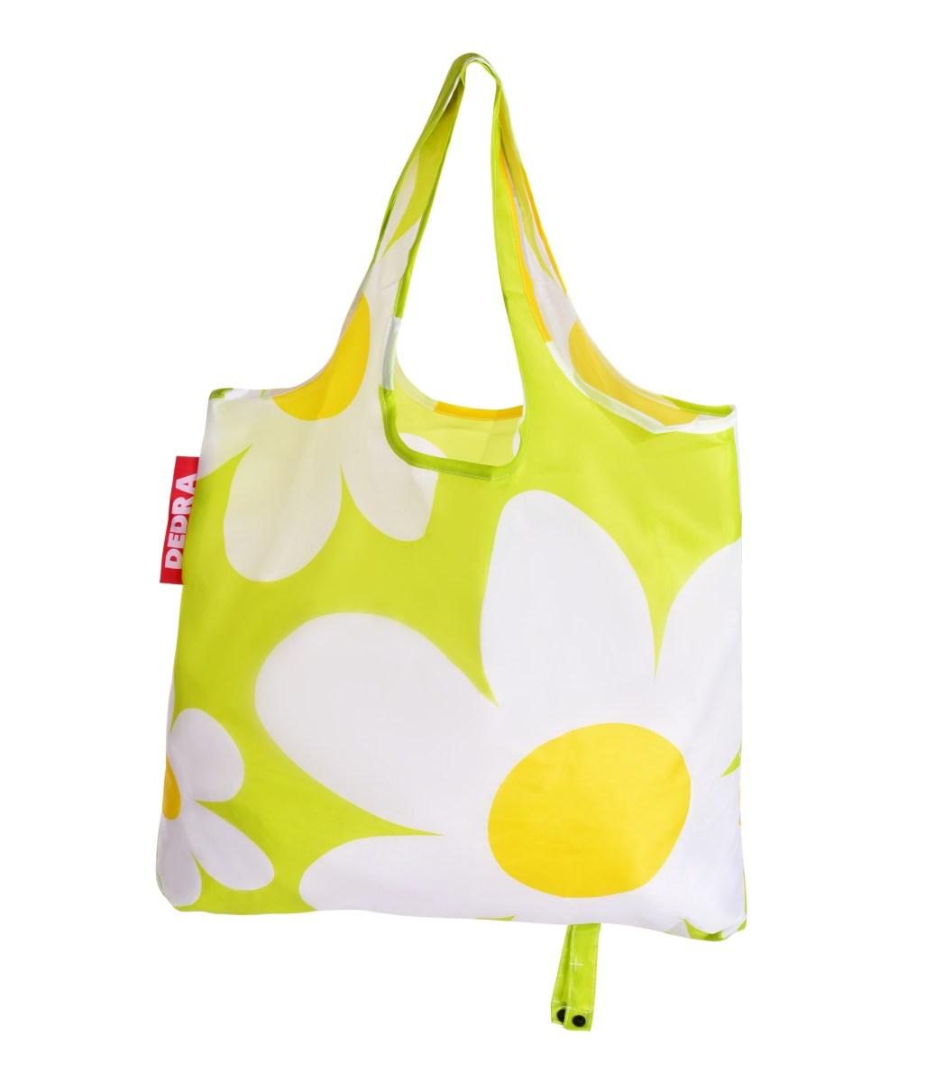 Nákupní skládací taška k opakovanému použití, CITYBAG DAISY (kopretina)