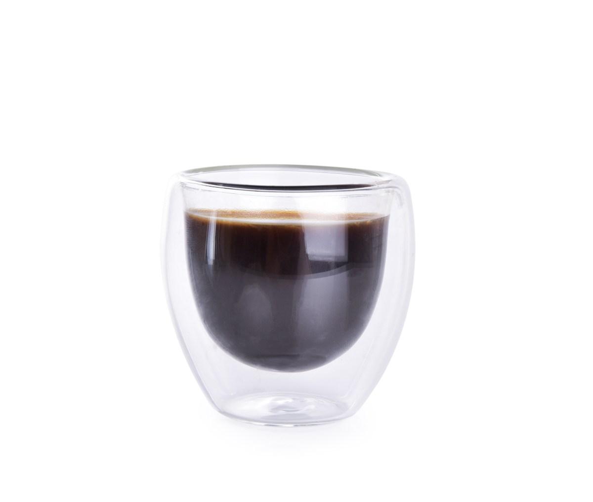 70 ml dvoustěnná TERMO sklenice BOROSIL DOUBLE-GLASS