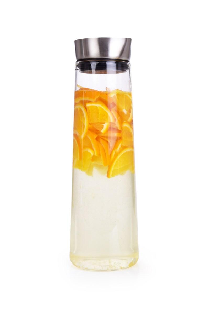 1,6 L szklana karafka z nierdzewn± zatyczk± do nalewania
