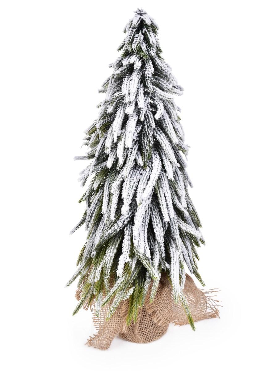 52 cm Zasněžený stromek, stojící dekorace