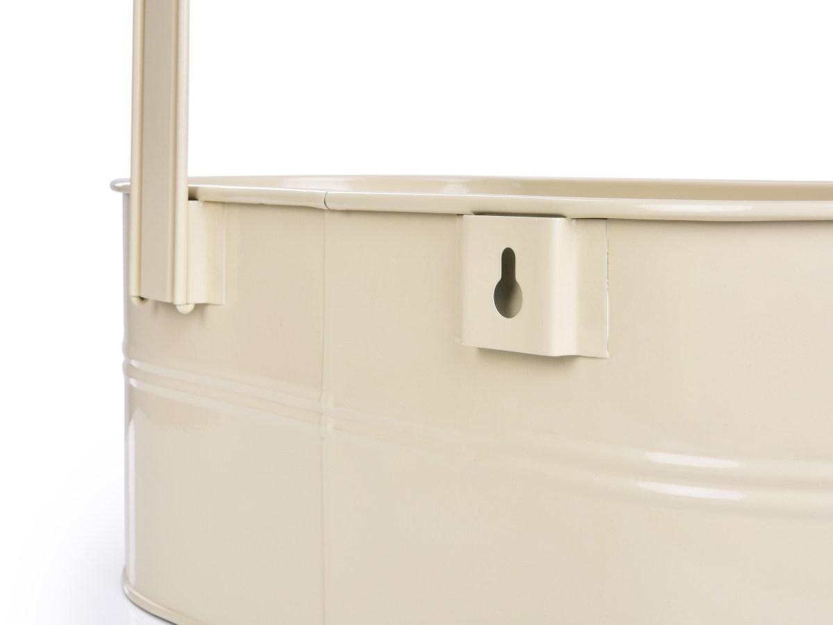 36,5 cm Závěsný truhlík s odnímatelnými háky