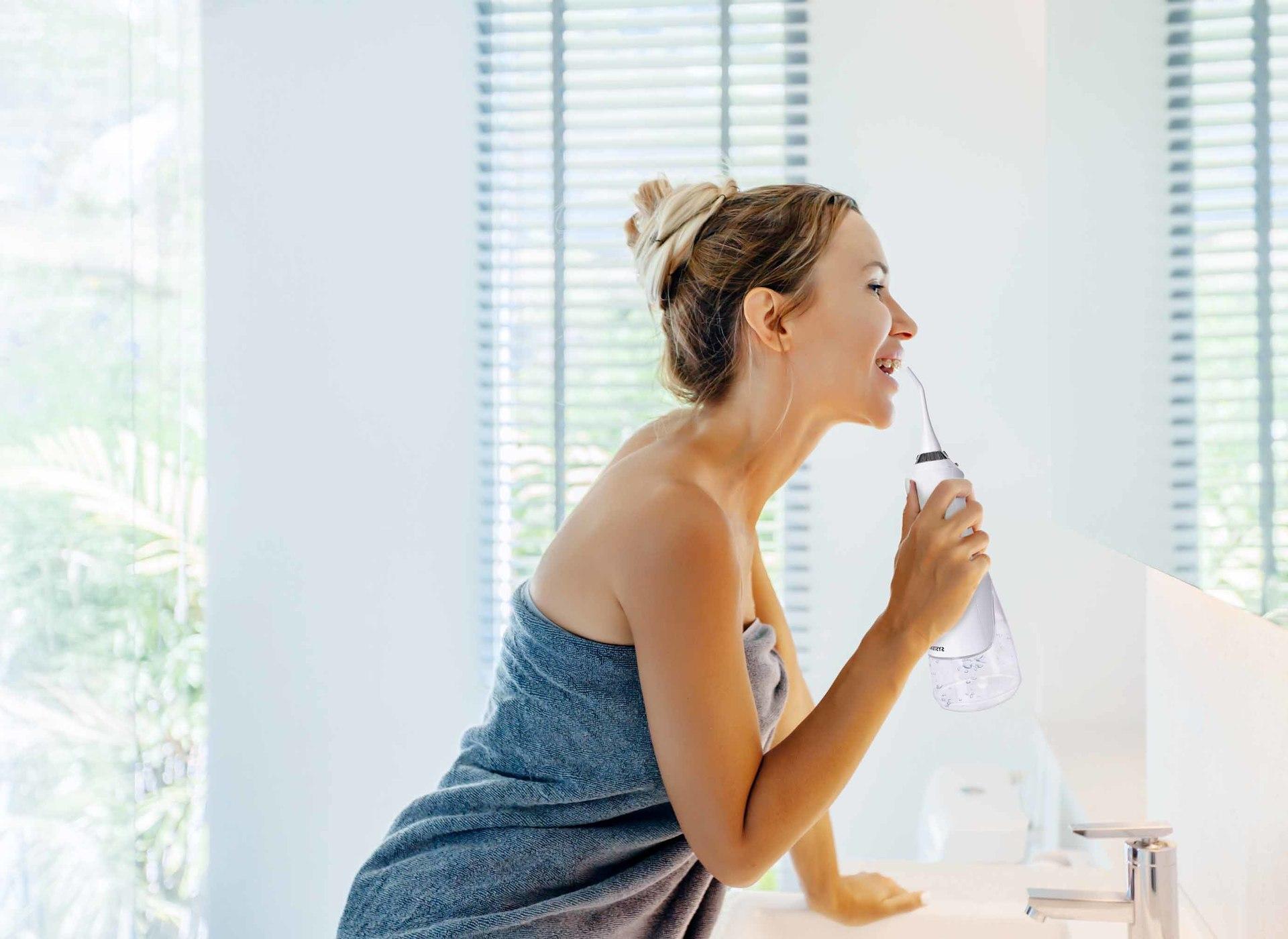 XXL ústní sprcha ORAL IRRIGATOR DEDRA DENT