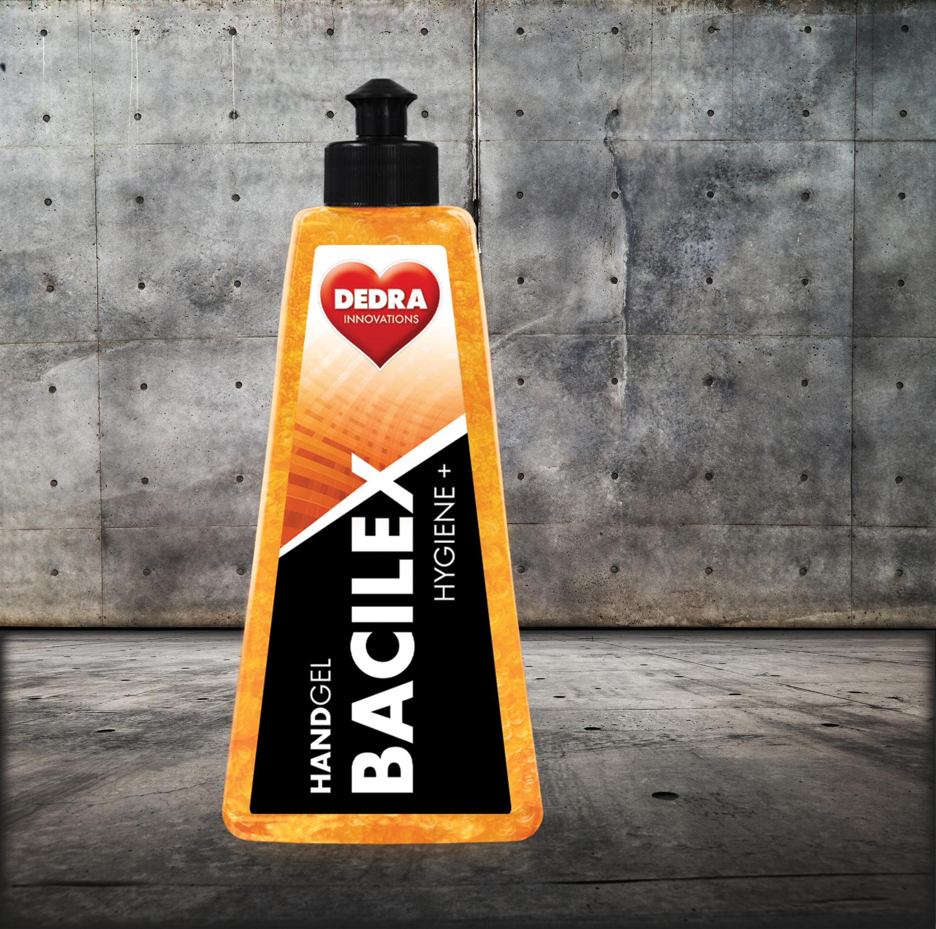 Čisticí gel na ruce s vysokým obsahem alkoholu, 500 ml, HANDGEL BACILEX® HYGIENE+