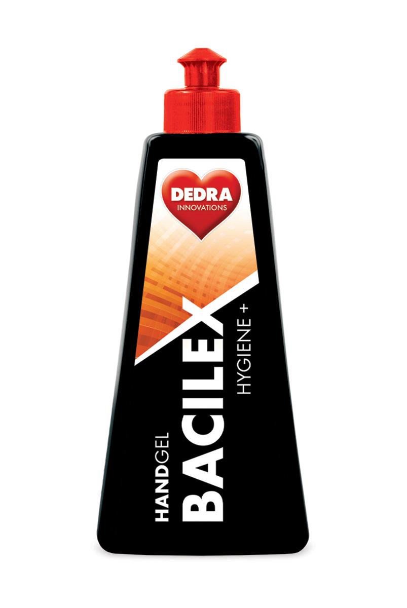 Čisticí gel na ruce s vysokým obsahem alkoholu, 500 ml, HANDGEL BACILEX HYGIENE+