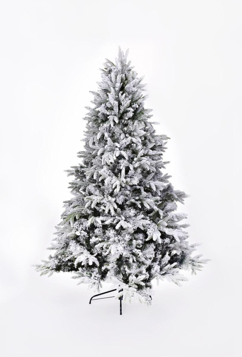 180 cm vánoční stromek se stojanem, ZASNĚŽENÝ SMRK