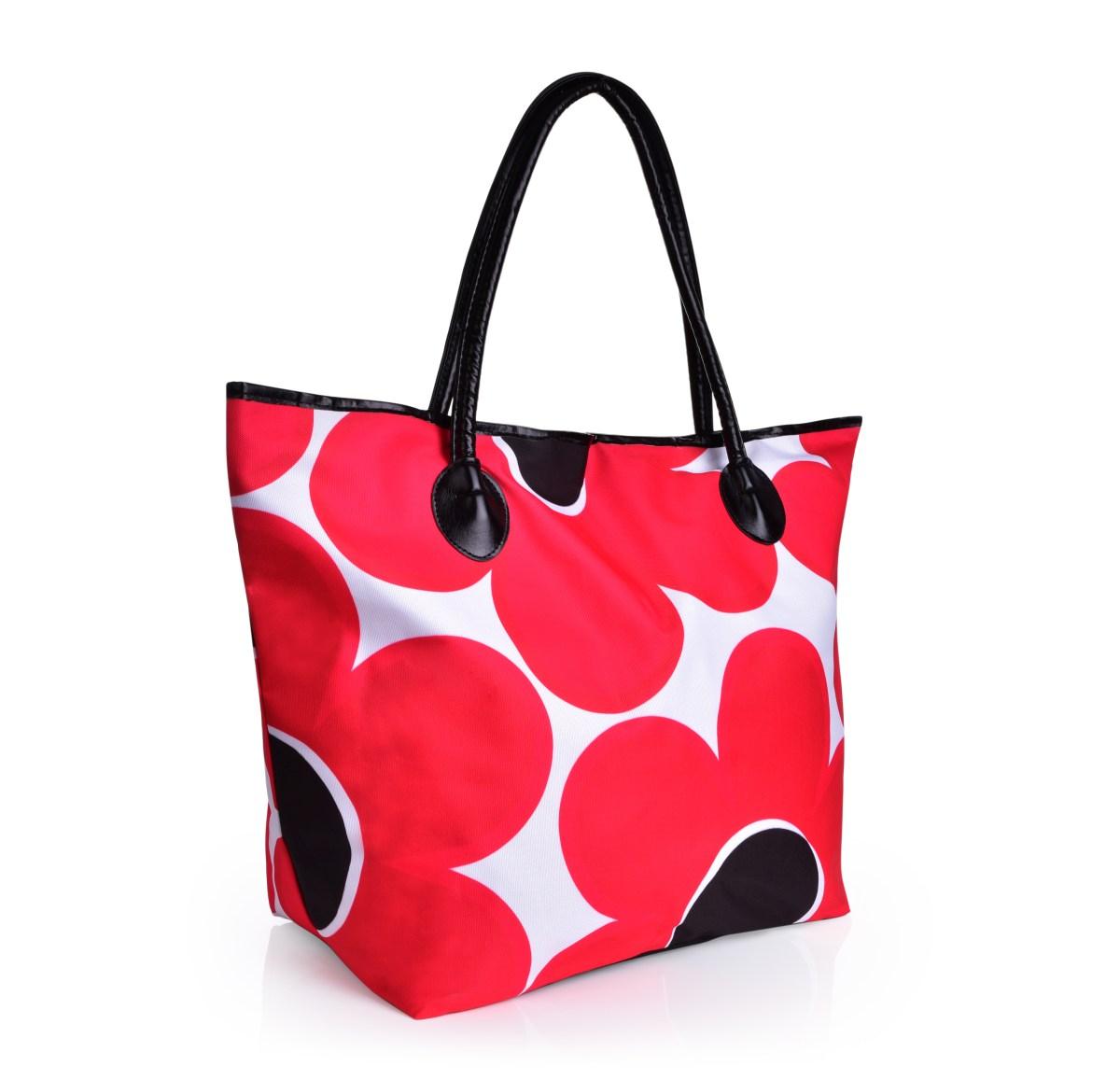 Velká taška na zip  DAISY FLOWERS