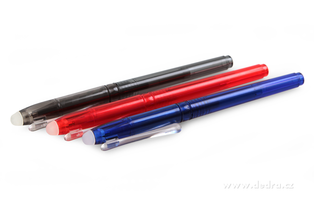 GUMOVATELNÉ, kuličkové pero
