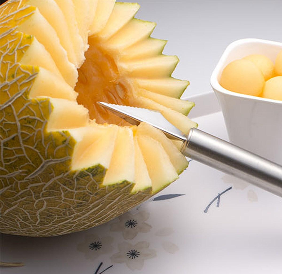 18 cm nerezové vykrajovátko na ovoce a zeleninu