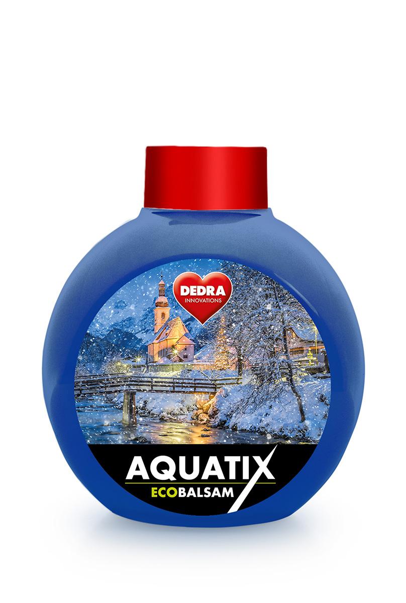 Náplň, ECOBALSAM AQUATIX christmas dream, koncentrát na ruční mytí nádobí bez pumpičky