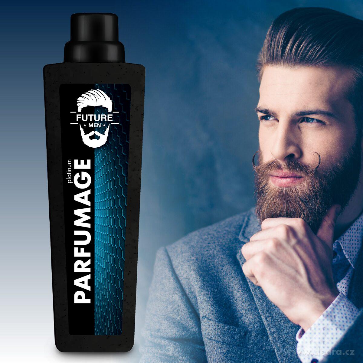 PARFUMAGE®, platinum, FUTURE MEN®, parfémový superkoncentrát