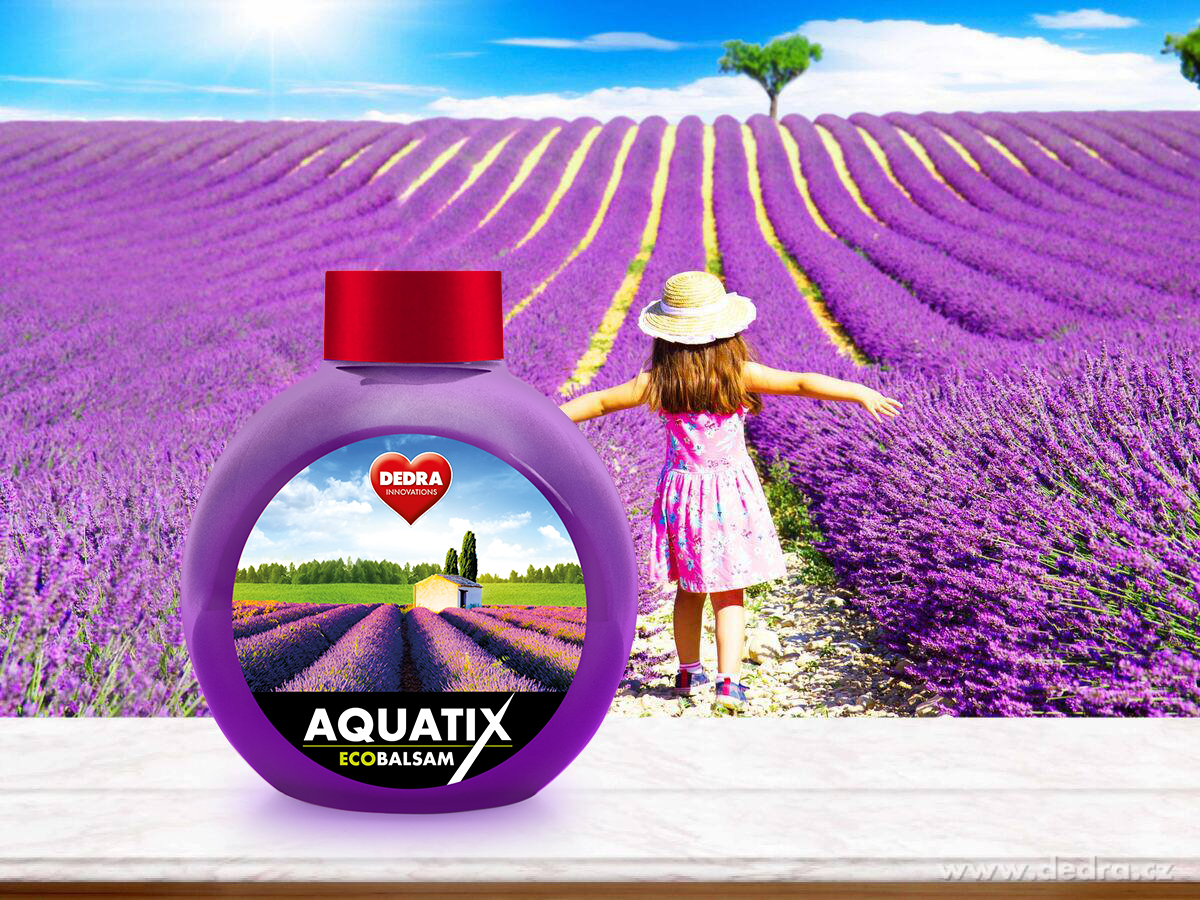 EKO koncentrát na ruční mytí nádobí, ECOBALSAM AQUATIX® relaxation, bez pumpičky