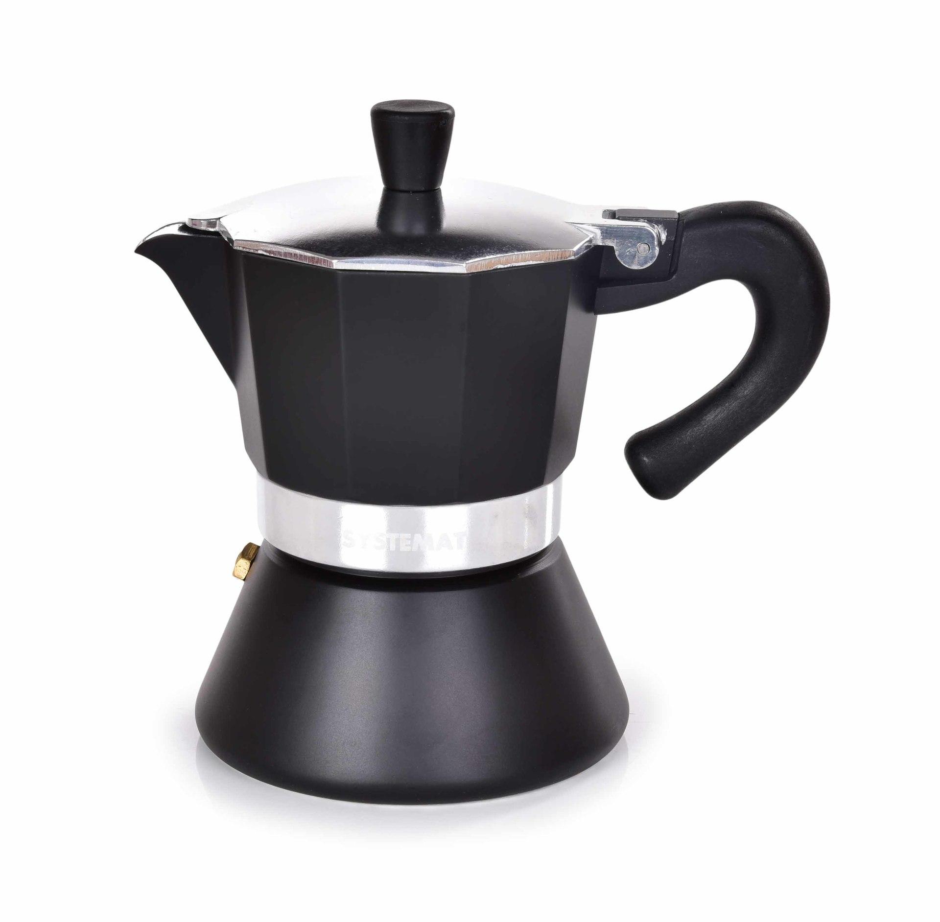 160 ml MOKA ESPRESSO ci¶nieniowy dzbanek do przygotowania kawy, 3 fili¿anki