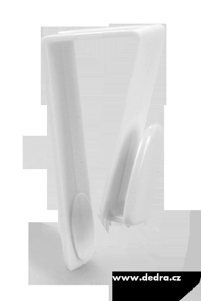 2 ks háčků na dvířka skříní i radiátory v koupelně délka 7 cm