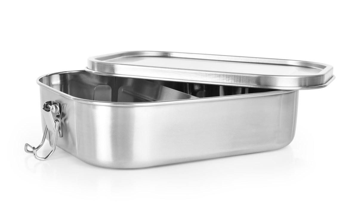 """DA30751-""""DOŽIVOTNÍ"""" celonerezová dóza na potraviny so silikónovým tesnením"""