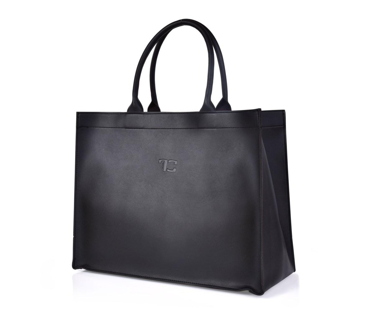 FC SHOPPER BAG černá elegantní taška