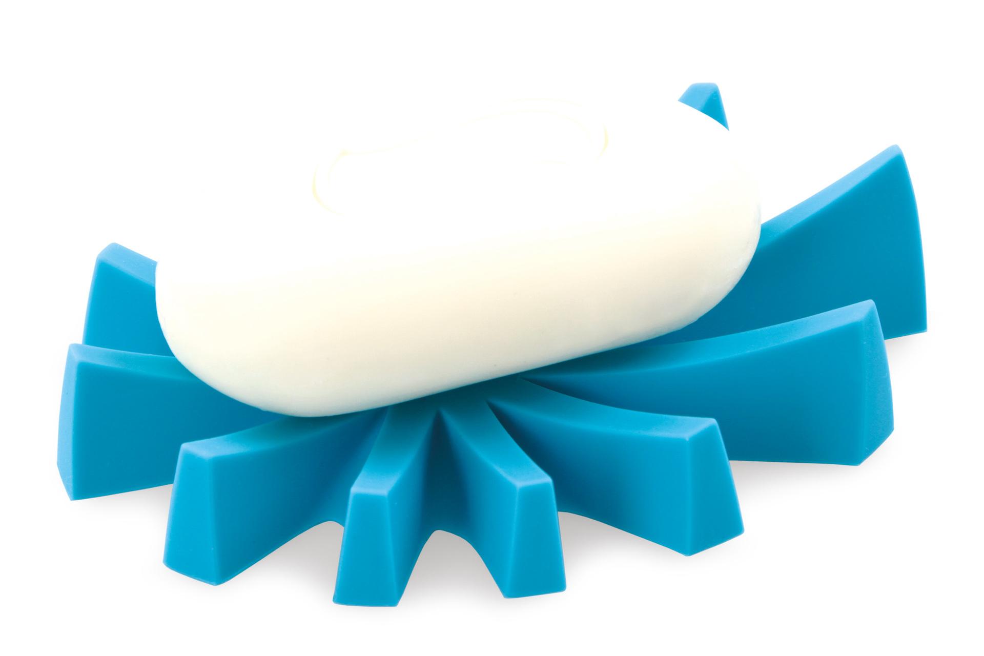 Mýdlovník tyrkysový, stojan na tuhá mýdla