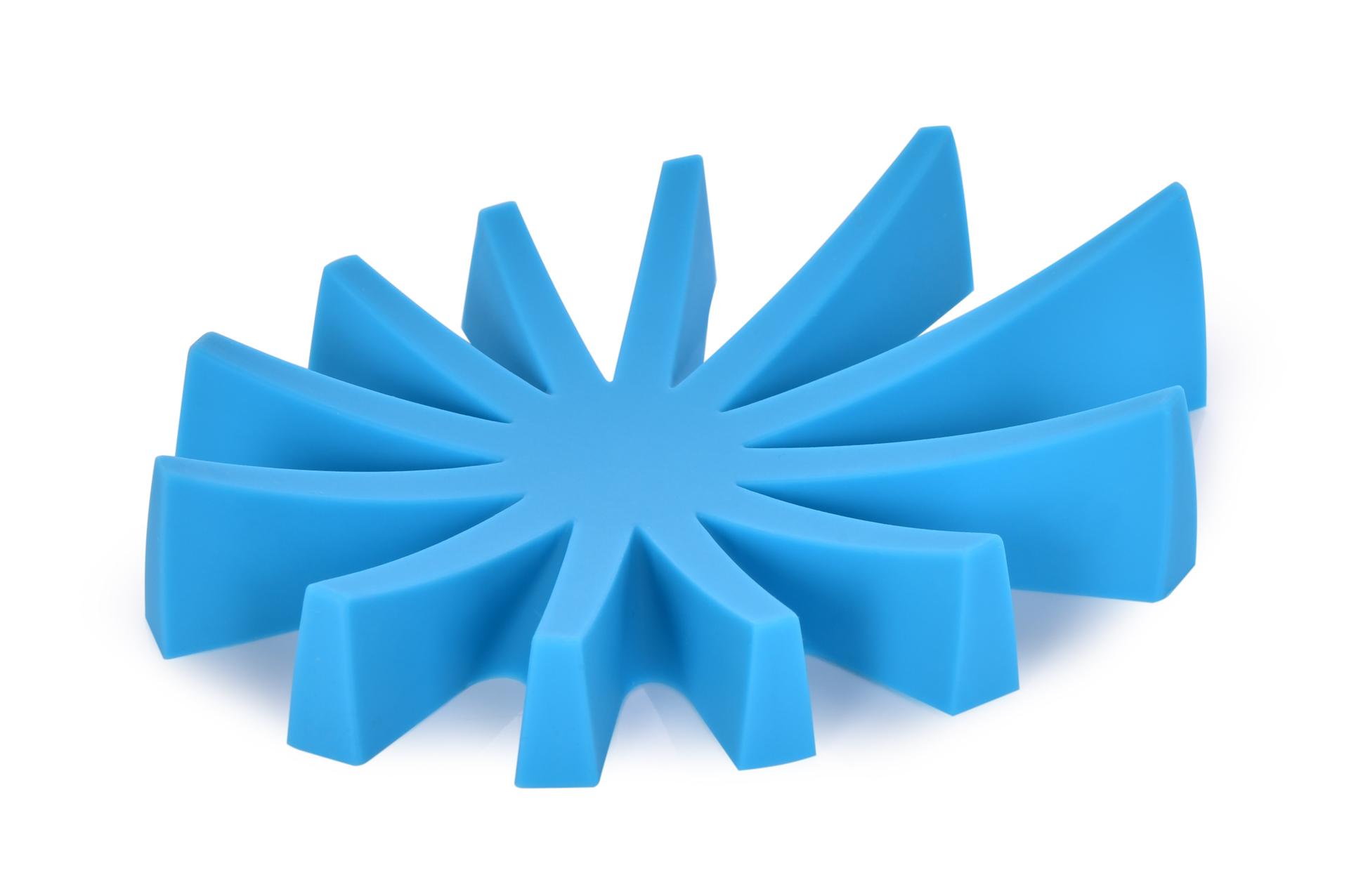 Mýdlovník tyrkysový stojan na tuhá mýdla silikon