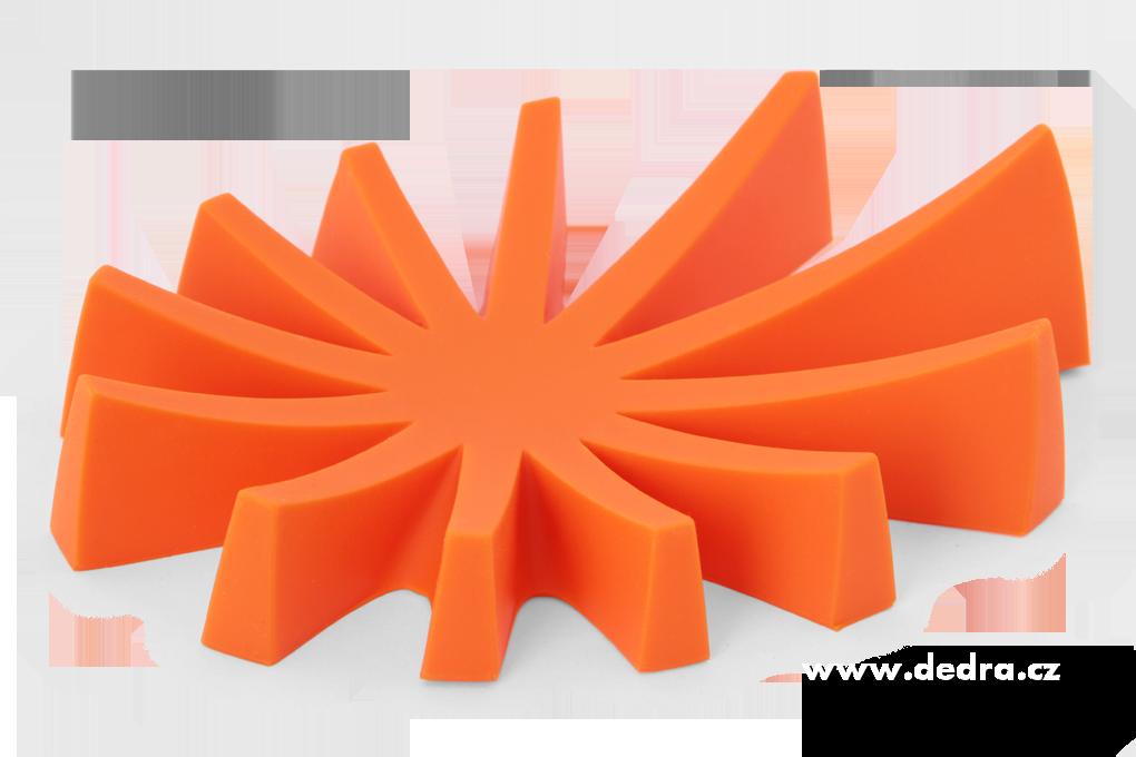 Mýdlovník oranžovýstojan na tuhá mýdlasilikon