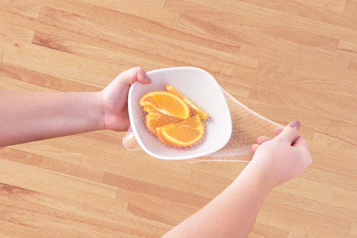 SILIKONOVÁ FÓLIE na potraviny 30x30 cm, nádoby do průměru 30 cm