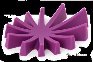Mydelniczka silikonowa fioletowa