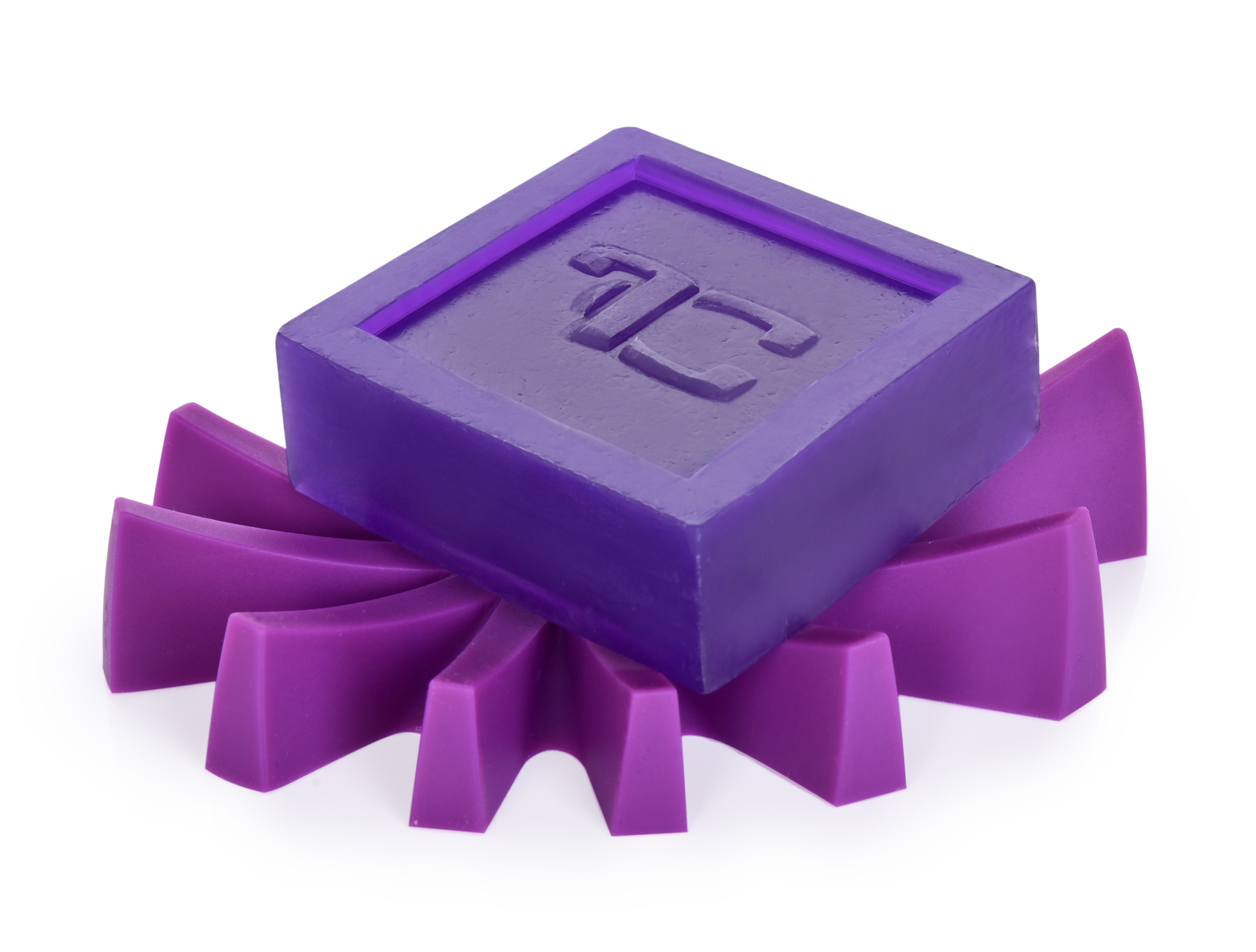 Mýdlovník fialový, stojan na tuhá mýdla