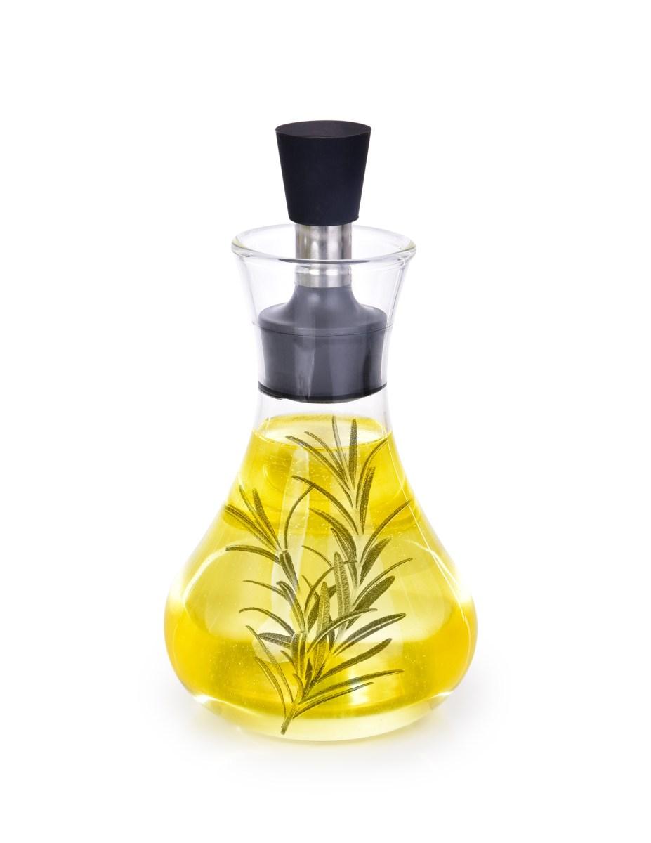 300 ml KARAFA na olej/ocet/dresing, z borosilikátového skla