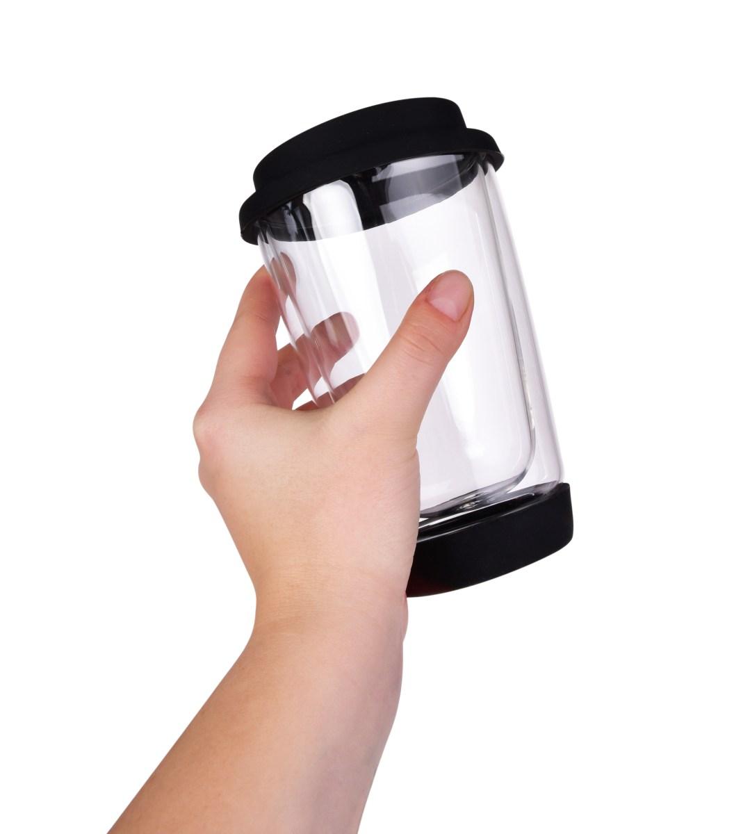 FC31001-340 ml dvojstenný sklenený termo hrnček BOROSIL KELIMERO®