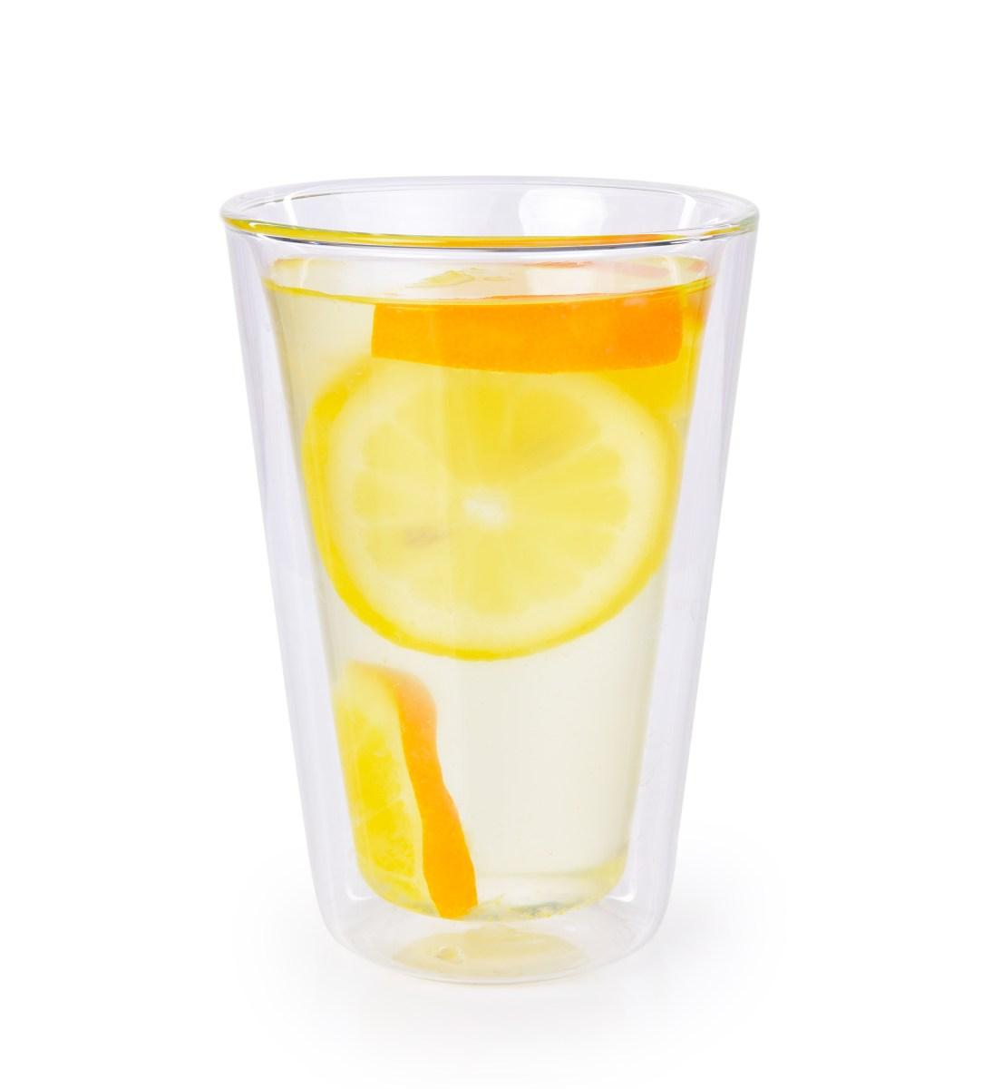 400 ml dvoustěnná TERMO sklenice BOROSIL DOUBLE-GLASS