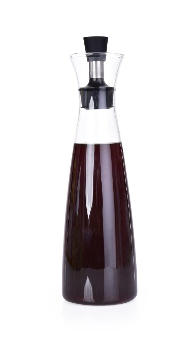 600 ml KARAFA na olej/ocet/dresing, z borosilikátového skla