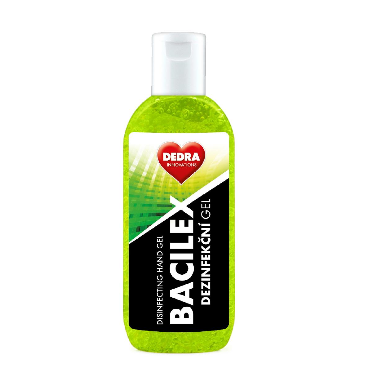 Certifikovaný dezinfekční gel na ruce, 70 % alkoholu, BACILEX DISINFECTING HAND GEL