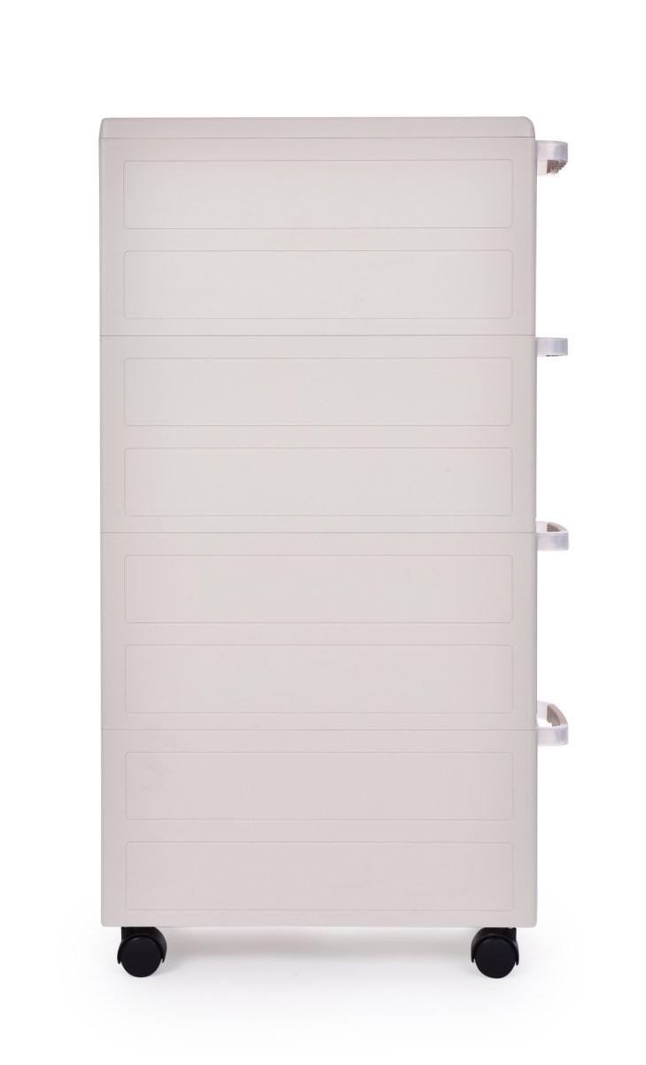 DA31051-Pojazdný regál SLIM BOX 18 cm s transparentnými zásuvkami