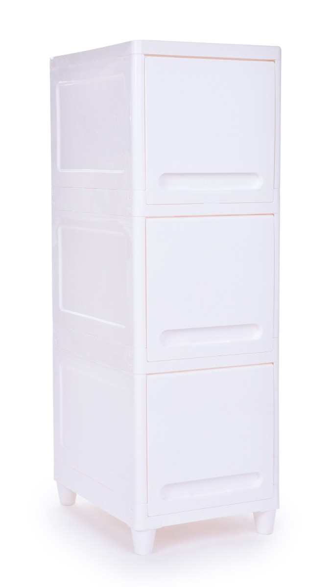 Regál, skříňka Opening regal se zavíracími policemi výška 90 cm