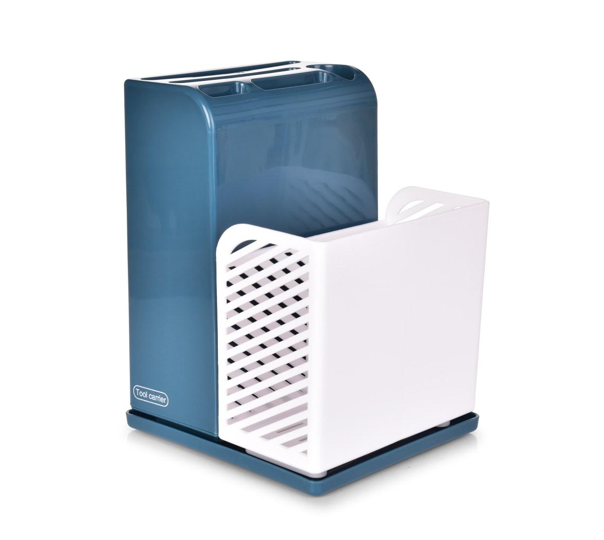 Stojan/odkapávač na kuchyňské náčiní a příbory