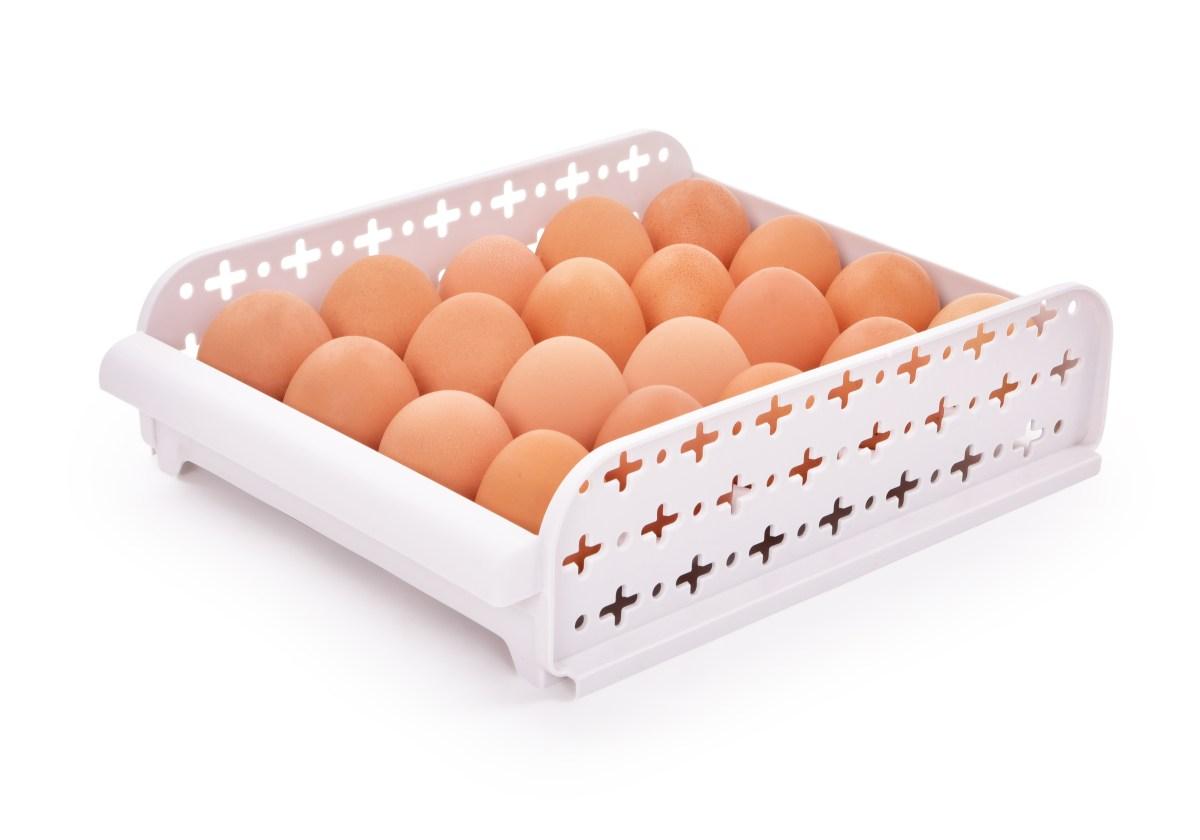 Stohovatelný organizér/stojan na vajíčka